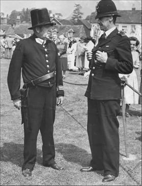 Bill Peasall Village Fest 1951 And PC Jim Bleach