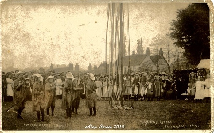 1911 The Brockham May Day Morris Dancers