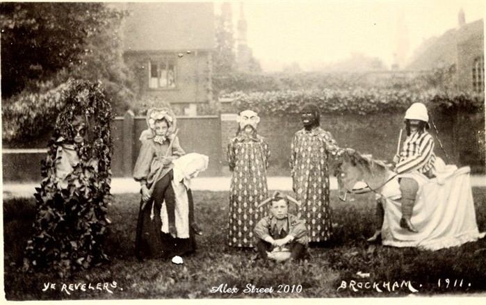 1911 The Brockham May Day Revellers